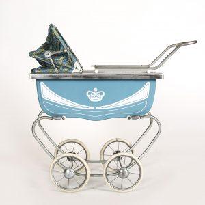 blue vintage buggy
