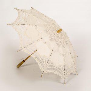 antique lace umbrella