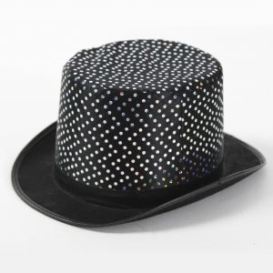 Top Hat with Polka Dots