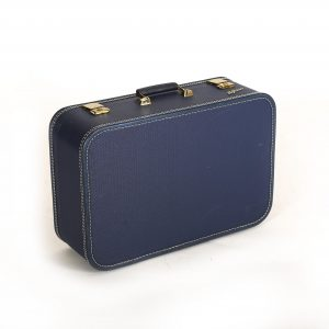 Blue Small Vintage Suitcase