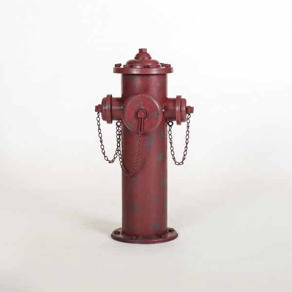 red fire hydrant prop