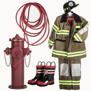 fireman prop set