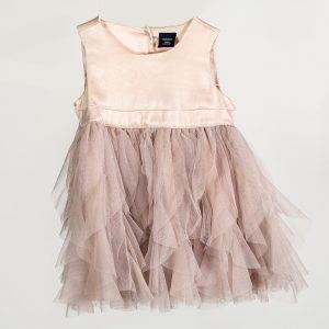vintage baby dress prop