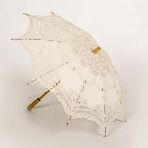 antique lace umbrella