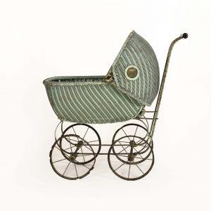 vintage green buggy