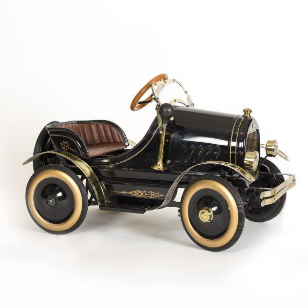 Vintage 1930's black toy car