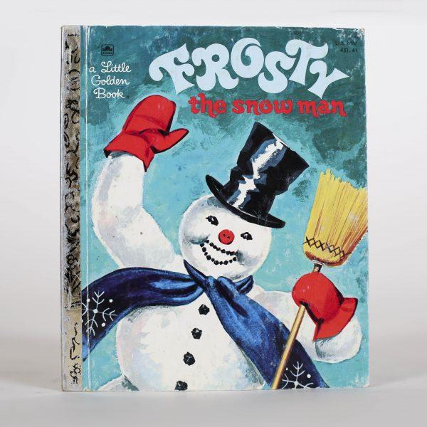 frosty little golden book