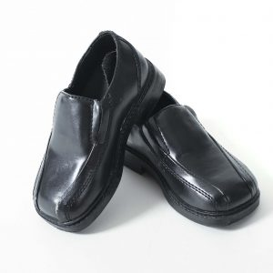 Boys Black Prop Shoes