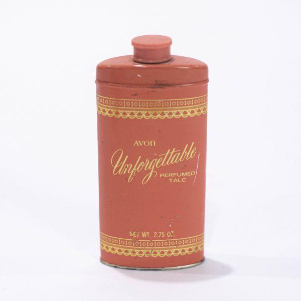 avon vintage powder talc bottle