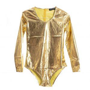 gold bodysuit costume rental