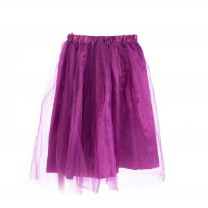 Magenta Tulle Skirt costume prop rental