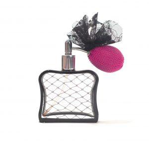 retro perfume bottle with pump
