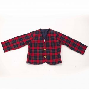 plaid coat rental