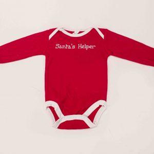 santas helper onesie for sale