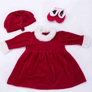 velvet holiday dress prop