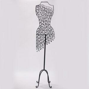 Wire fashion mannequin prop.