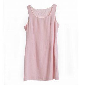 pink boucle dress rental