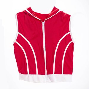 70's red sleeveless vest