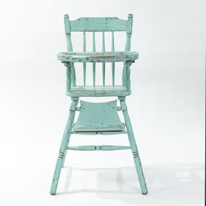 vintage high chair prop