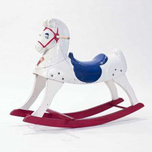 vintage rocking horse prop